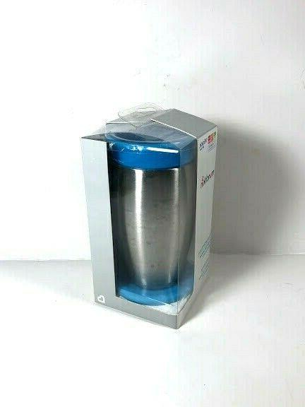Munchkin Stainless Steel 360 Sippy Cup Blue 10 oz.
