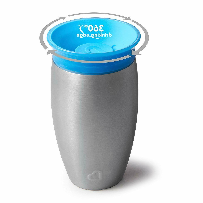 Munchkin Stainless 360 Cup,Premium Vacuum Sealed