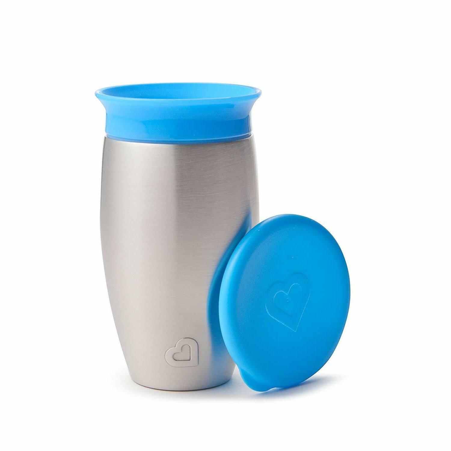 miracle stainless steel 360 sippy cup premium