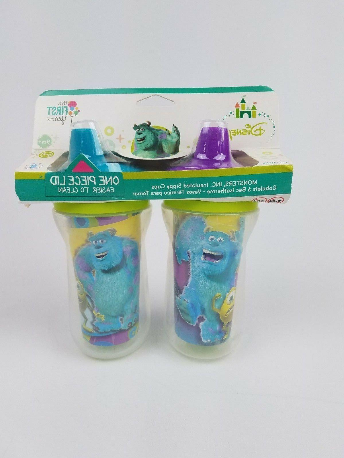 monsters insulated sippy cups