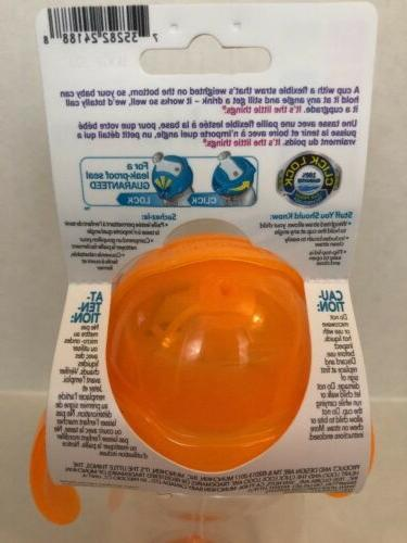 Munchkin Lock Weighted Flexi-Straw Sippy Cup 6 Months+ 7