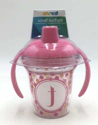 my first sippy cup new pink
