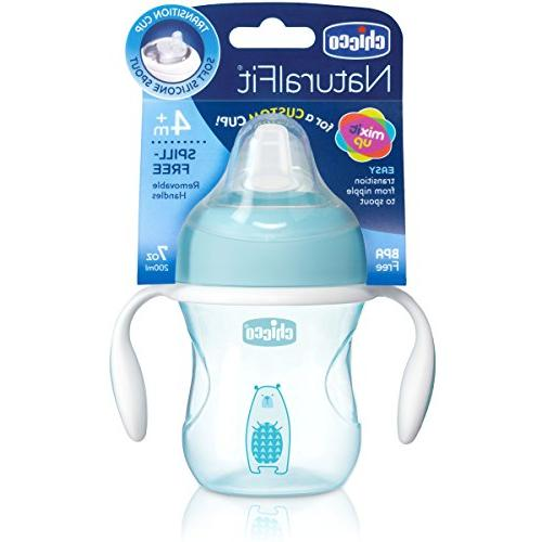 Chicco Spout Transition Cup, Blue, 7