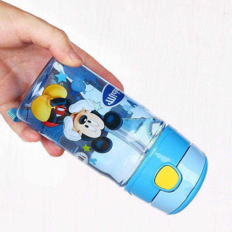 NEW Baby Kids Children Disney Drinking Water Straw Bottle Straw Sippy Cup