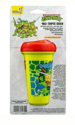 NEW Gerber Graduates Mutant Ninja Turtles Hard Spout Cup 10 Ounces