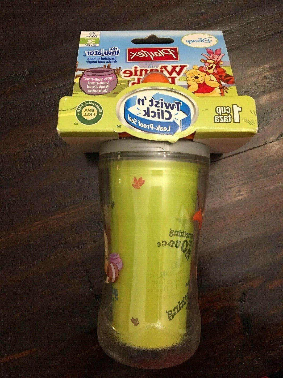 new sippy cup twist click disney winnie