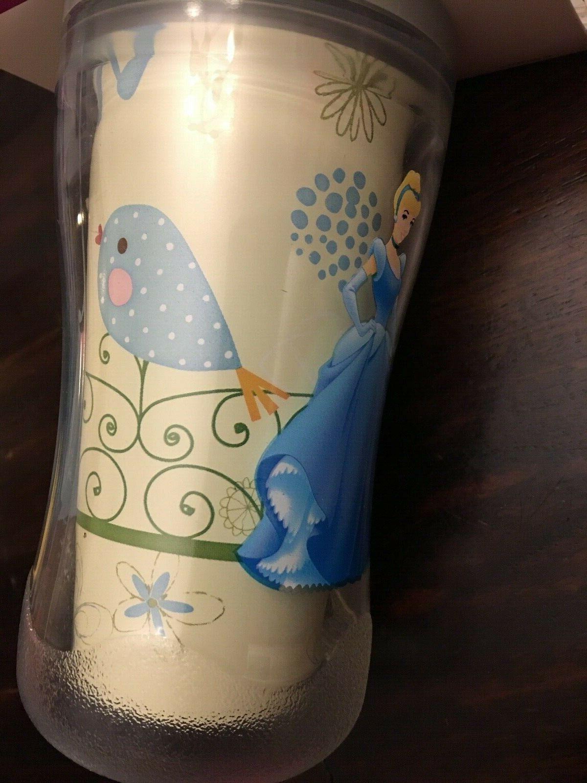 New Playtex Sippy Cup Twist 'n Princess Spill Cinderella