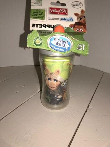 new sippy cups twist click disney muppets