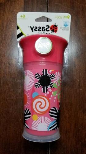 no spill 9oz bpa free sippy cup