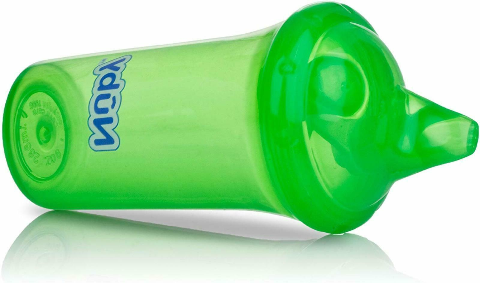 Nuby No-Spill Cup Dual-Flo Baby 9-Ounce New