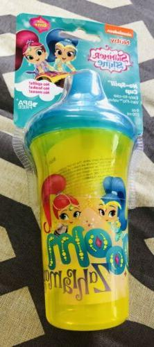 Nuby Sippy Cup Nickelodeon Shimmer & Shine 9oz No Spill Vari
