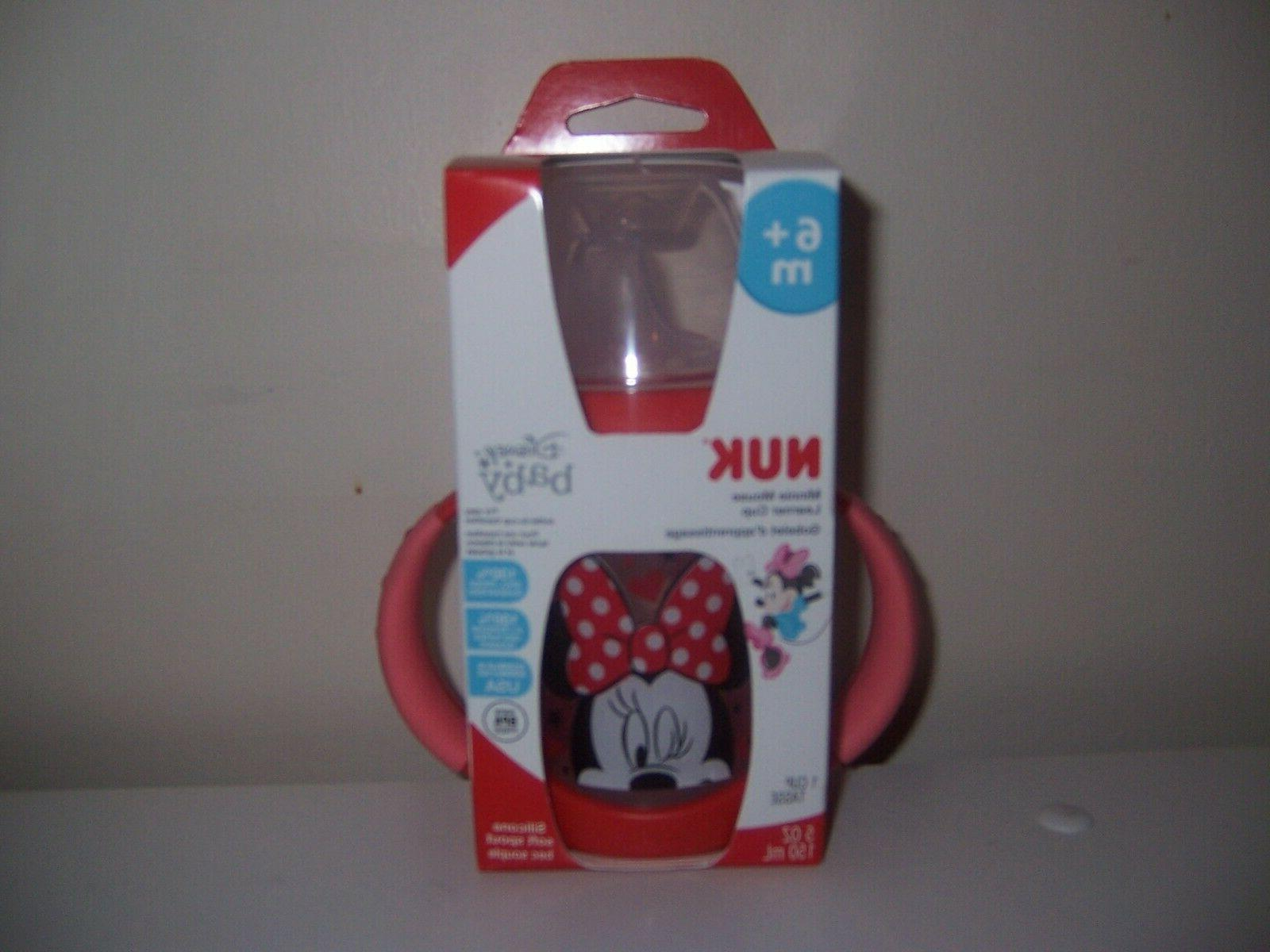 nuk disney baby minnie mouse sippy cup