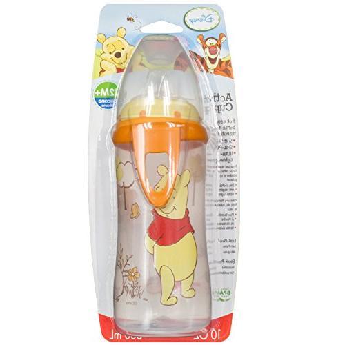 NUK Disney Active Sippy Cup, Winnie 10oz