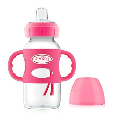 options wide neck sippy spout baby bottle