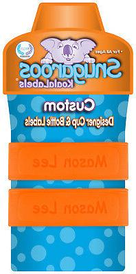 PACK Personalized Daycare Labels for Cups &