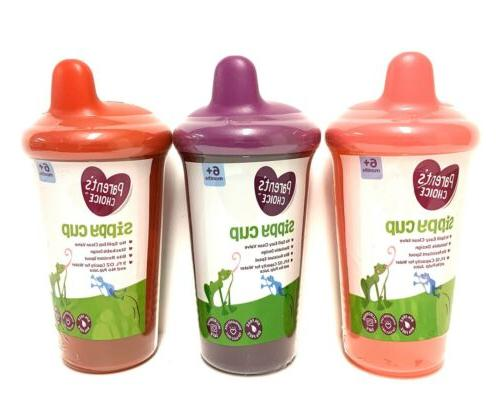 parents choice sippy cups girls unisex 3
