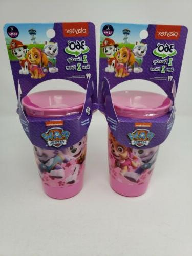 paw patrol 360 spoutless sippy cup 2