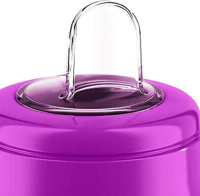 Philips Avent My Sippy Cup, 9 Pink/Purple,