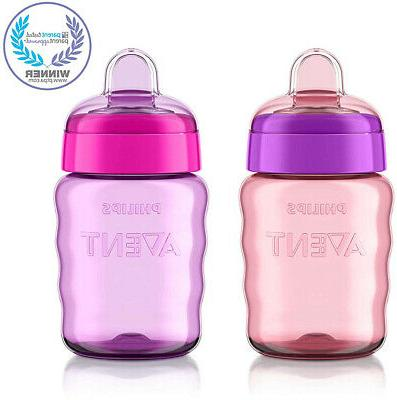 Philips Avent My Easy Sippy Pink/Purple,