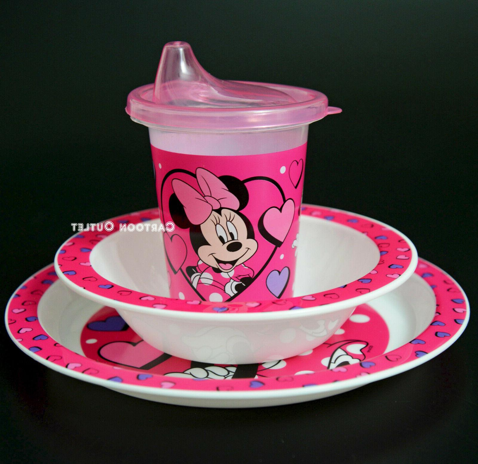Learner Sippy Cup 3 Dinner Minnie Mouse