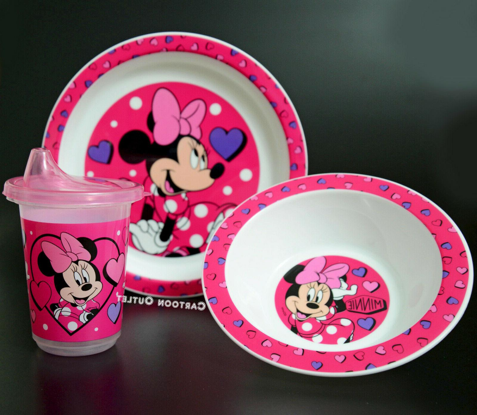 plate bowl and learner sippy cup kids