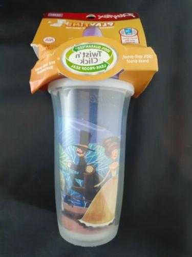 NEW ! Playtex PlayTime Insulated Spill Proof Spout Cup, For