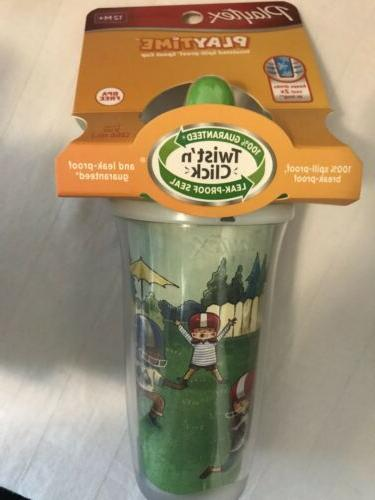 playtime toddler insulated spillproof spout sippy cup
