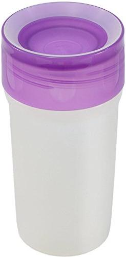 Litecup - Purple - Non Spill Cup w/ Night light for toddlers