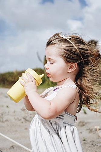 Re-Play in the USA Sippy for Baby, Toddler, - Green Durable, Tough