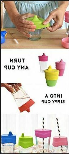 Silicone Sippy Lids Most Cups Cup