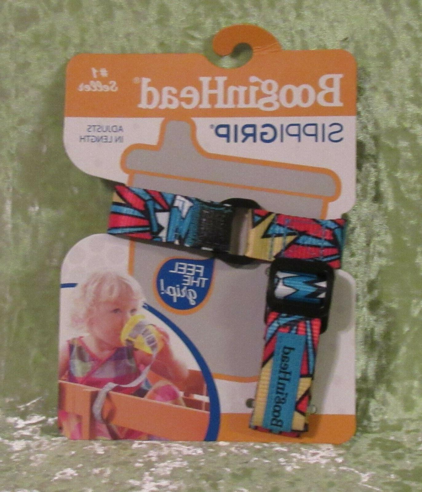 Booginhead Sippi Grip Adjustable sippy cup / Baby Grip Strap