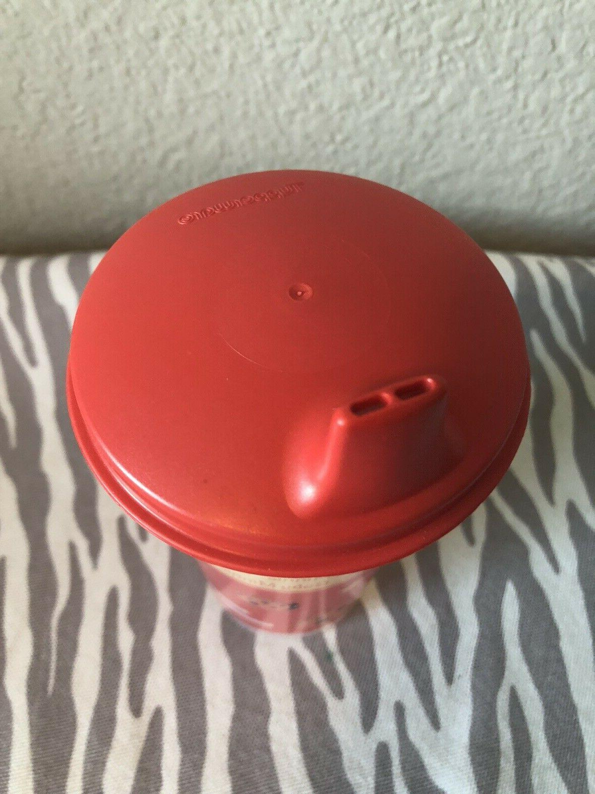 Tupperware Sippy Bell Tumbler Minnie Seal