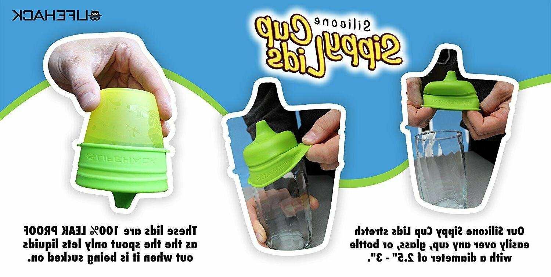 Sippy Cup Lids MrLifeHack 4pk Cup Bottle BPA