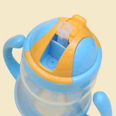 Baby Kid Straw Bottles Training Cup