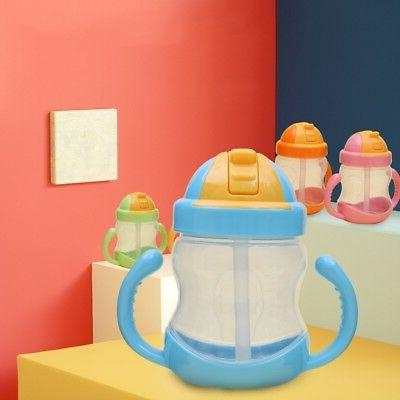 Sippy With Baby Kid Straw Bottles Training Cup