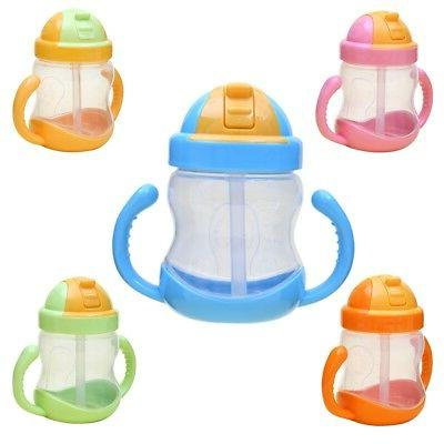 sippy cups with handles baby kid straw