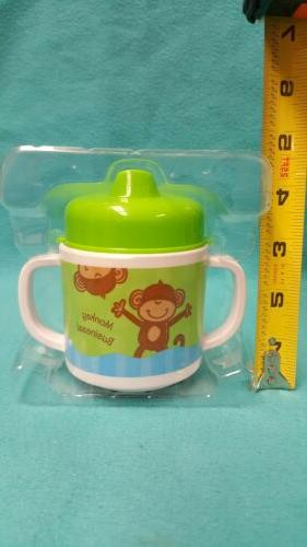 Stephen Joseph sippy cupToddler No Spill Cup monkey