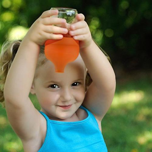 CUKENG Lids, Spill Proof Silicone Sippy Cup, Gift Sets