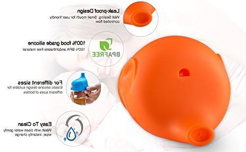 CUKENG Sippy Lids, Toddler/Babies Spill Sippy Cup, Prefert Gift