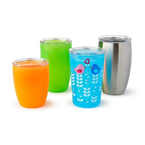 Munchkin Sippy and Lids Miracle 360 Cups,