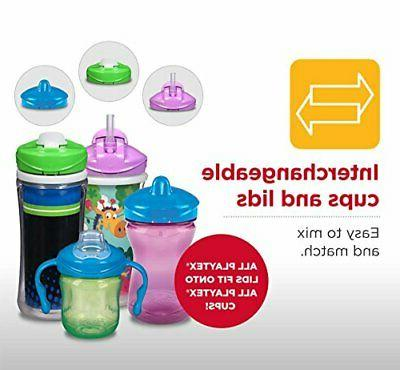 Playtex Sipsters Stage Spill-Proof, Leak-Proof, Break-Proof Spout Sippy