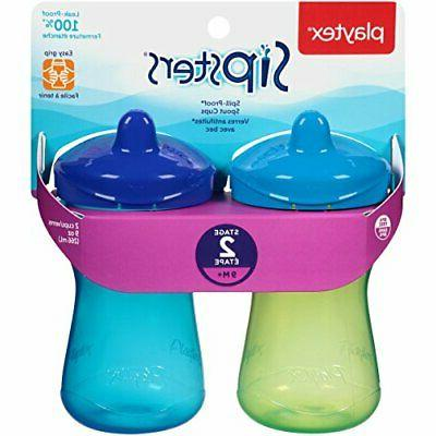 Playtex Sipsters Stage Spill-Proof, Leak-Proof, Sippy