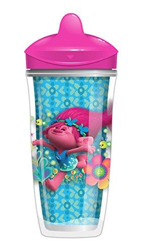 Playtex Sipsters Trolls Insulated Spout Cup, 9 Count