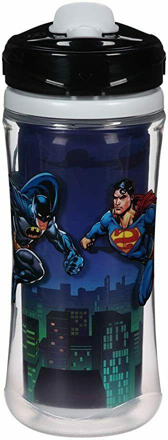 Playtex Sipsters Super Friends Sport Spout 12 oz Sippy Cups