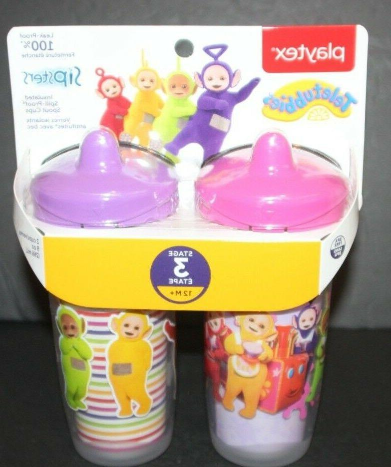 sipsters teletubbies sippy cups brand new stage