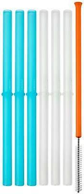 snug silicone straws