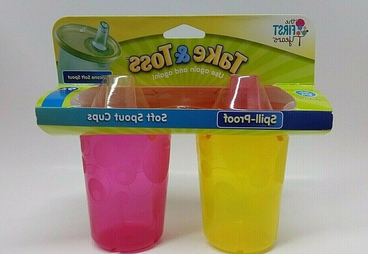 soft spout sippy cup 10 oz baby