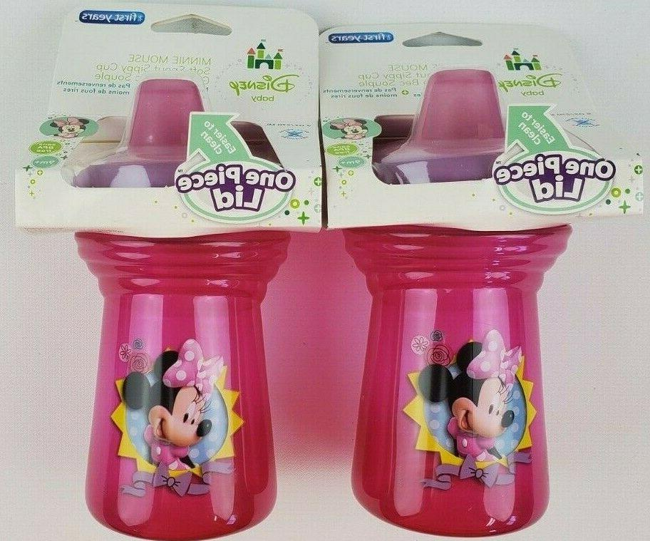 Disney Soft Spout Sippy Cup, Minnie Mouse Y9606A7