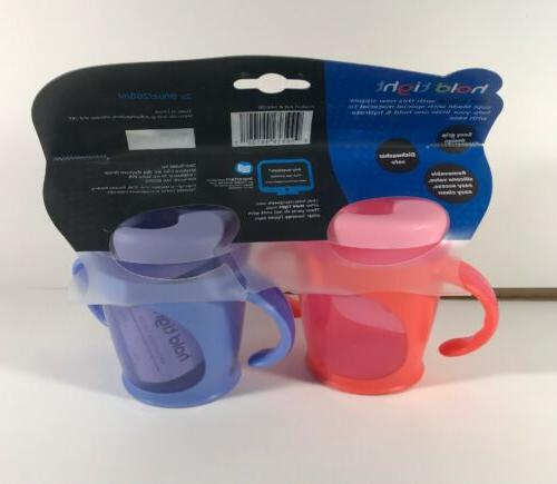 Tommee Soft Trainer Sippy - 2 Count 9 Blue + Pink