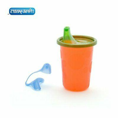 Spill-Proof Sippy Cups Kids , 4 Take & Toss